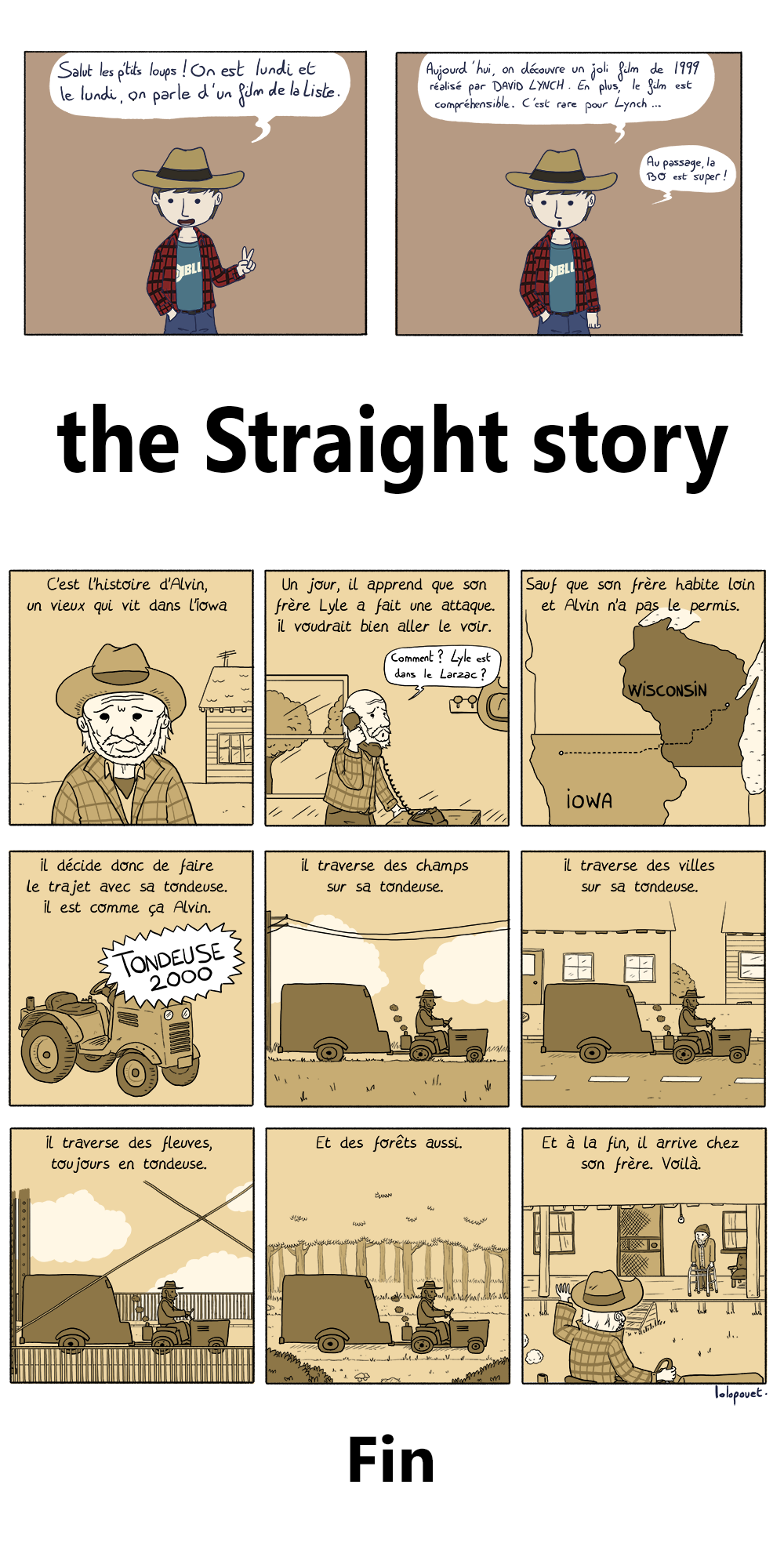Lundi cinéma - The Straight Story